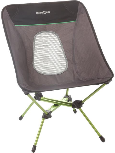 Brunner Orbit - Taburetes plegables - gris/verde